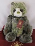 Modern jointed teddy bear by Charlie Bears 'Colin' designed by Isabelle Lee L 46 cm