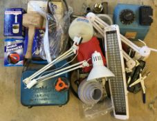 Various car repair equipment,
