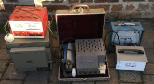 Timegrapher, Tocimo auto transformer, Irwin LV power supply,