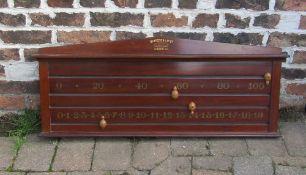 Thirston & Co snooker scoreboard L 104 cm