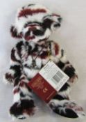 Modern jointed teddy bear by Charlie Bears 'Allsorts' designed by Heather Lyell L 33 cm