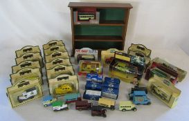 Assorted die cast cars inc Days Gone, Corgi Mr Bean's mini, Burago Ferrari F40,