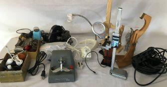 Various watch makers tools & equipment etc