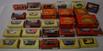 Quantity of boxed Matchbox Models of Yesteryear die cast model cars