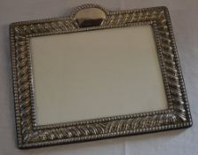 Silver photo frame, Sheffield 1977,