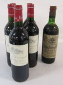 6 bottles of Chateau Beauregard 'Pomerol' 5 x 1995 1 x 1973