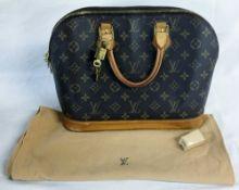 Louis Vuitton Alma handbag with dust bag,