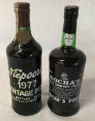 Niepoort's 1977 vintage port & Rocha's Old Tawny Port