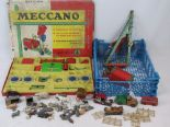 Lot 429 - Meccano Outfit Number 4 (incomplete),