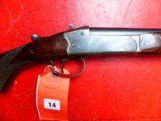 SHOTGUN AYA 12G SINGLE BARREL SERSAIL NUMBER 344057 (ST NO 3316)