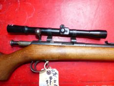 RIFLE. BSA .22LR BOLT ACTION /W SCOPE SERIAL NUMBER LE63690 ( ST NO 3319)