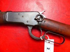 RIFLE. WINCHESTER LEVER ACTION MODEL 92. .44WCF. SERIAL NUMBER 771152 ( ST NO 3328