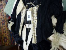 VARIOUS VICTORIAN AND LATER DRESSES AND COSTUME,ETC.