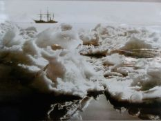 A GROUP OF PHOTOGRAPHS TO INCLUDE IMAGES BY OR AFTER HERBERT PONTING OF ANTARCTICA, HOLLYWOOD