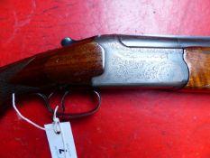 SHOTGUN. IBARGUN -EIBAR. 12G O/U BLNE SERIAL NUMBER 64625 (ST NO 3323)