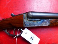 SHOTGUN. ZAMACOLA 120 S/S B.L.N.E. DOUBLE TRIGGER. SERIAL NUMBER 10237. (ST.No. 3302)
