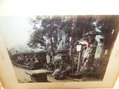 AN INTERESTING COLLECTIVE LOT OF VINTAGE PHOTOGRAPHS OF COLONIAL EASTERN AND ORIENTAL VIEWS TO