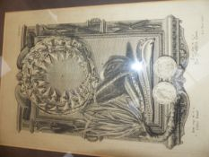 A SMALL COLLECTION OF 18 th.C.AND LATER PRINTS, SOME OF SCIENTIFIC AND TOPOGRAPHICAL INTEREST.