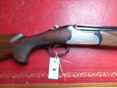 SHOTGUN LANBAR- 12G O/U BLE (DETACHABLE CHOKES) SERIAL NUMBER 330707 (ST NO 3322)