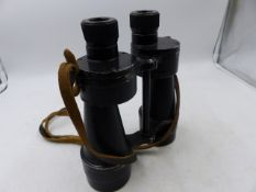 THREE PAIRS OF ROSS BINO PRISM BINOCULARS AND FOUR FURTHER PAIRS, VARIOUS. (7)