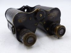 A RUSSIAN 7 x 50 MONOCULAR, A LIEBERMAN & GOERTZ MONOCULAR TOGETHER WITH EIGHT PAIRS OF SMALL