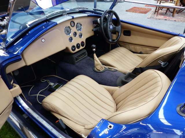 Lot 2192 - AC COBRA MK IV CRS (CARBON ROAD SERIES) X47 UOM 2001. 5000CC V8 13500 MILES 5 OWNERS FROM NEW .ONE
