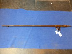 ***FIREARMS DEALERS CERTIFICATE HOLDERS ONLY *** THE BREECH AND BARREL OF AND UNKNOWN RIFLE APPROX