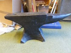 A BLACKSMITH'S ANVIL.