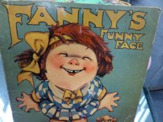 A GROUP OF VINTAGE BOARD GAMES, TOYS, JIGSAWS AND CHILDREN'S BOOKS.