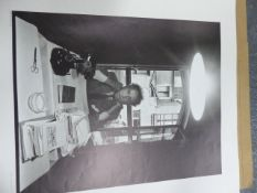 AFTER ARNOLD NEWMAN. FIVE UNFRAMED PHOTOGRAPHIC PORTRAIT PRINTS OF 20th.C.ARTISTS TO INCLUDE ANSEL