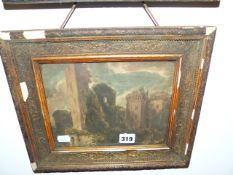 LATE 19th.C.ENGLISH SCHOOL. TWO LANDSCAPE WATERCOLOURS. 18 x 23cms.