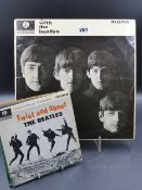 RECORDS. RUBBER SOUL IN MONO, WITH THE BEATLES IN MONO, BEATLES FOR SALE IN MONO, SGT. PEPPER'S