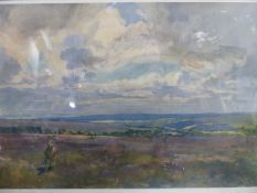 AFTER LIONEL EDWARDS. (1878-1966). FOUR HUNT SCENES, COLOUR PRINTS. 34.5 x 50cms. PURCHASED FROM