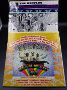 RECORDS. MAGICAL MYSTERY TOUR, REVOLVER , ABBEY ROAD, LOVE SONGS, SGT.PEPPER, BEATLES 1962-1966, A