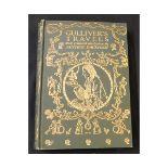 JONATHAN SWIFT: GULLIVER'S TRAVELS, illustrated Arthur Rackham, London, 1909, 1st trade edition,