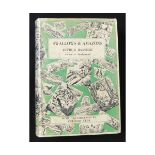 ARTHUR RANSOME: SWALLOWS AND AMAZONS, illustrated Clifford Webb, London, December 1932 reprint,