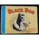 BLACK BOB THE DANDY WONDER DOG, Annual for 1950, published D C Thomson & Co, oblong, original