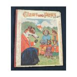 LOUIS WAIN: CLAWS AND PAWS, STORIES AND PICTURES FROM KITTENLAND AND PUPPYLAND, London and