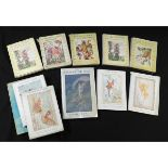 CICELY MARY BARKER: 5 titles: FLOWER FAIRIES OF THE SPRING - FLOWER FAIRIES OF THE SUMMER - FLOWER