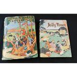 GLADYS PETO: 2 titles: JOLLY TIMES, London, J F Shaw, circa 1930, 4 coloured plates, quarto,