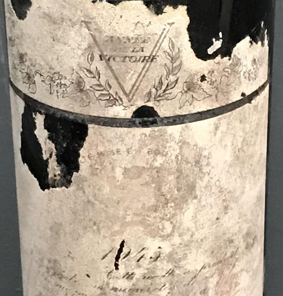 Lot 398 - Wine - One bottle Chateau Mouton Rothschild 1945 (top shoulder) provenance: Faringdon House ;