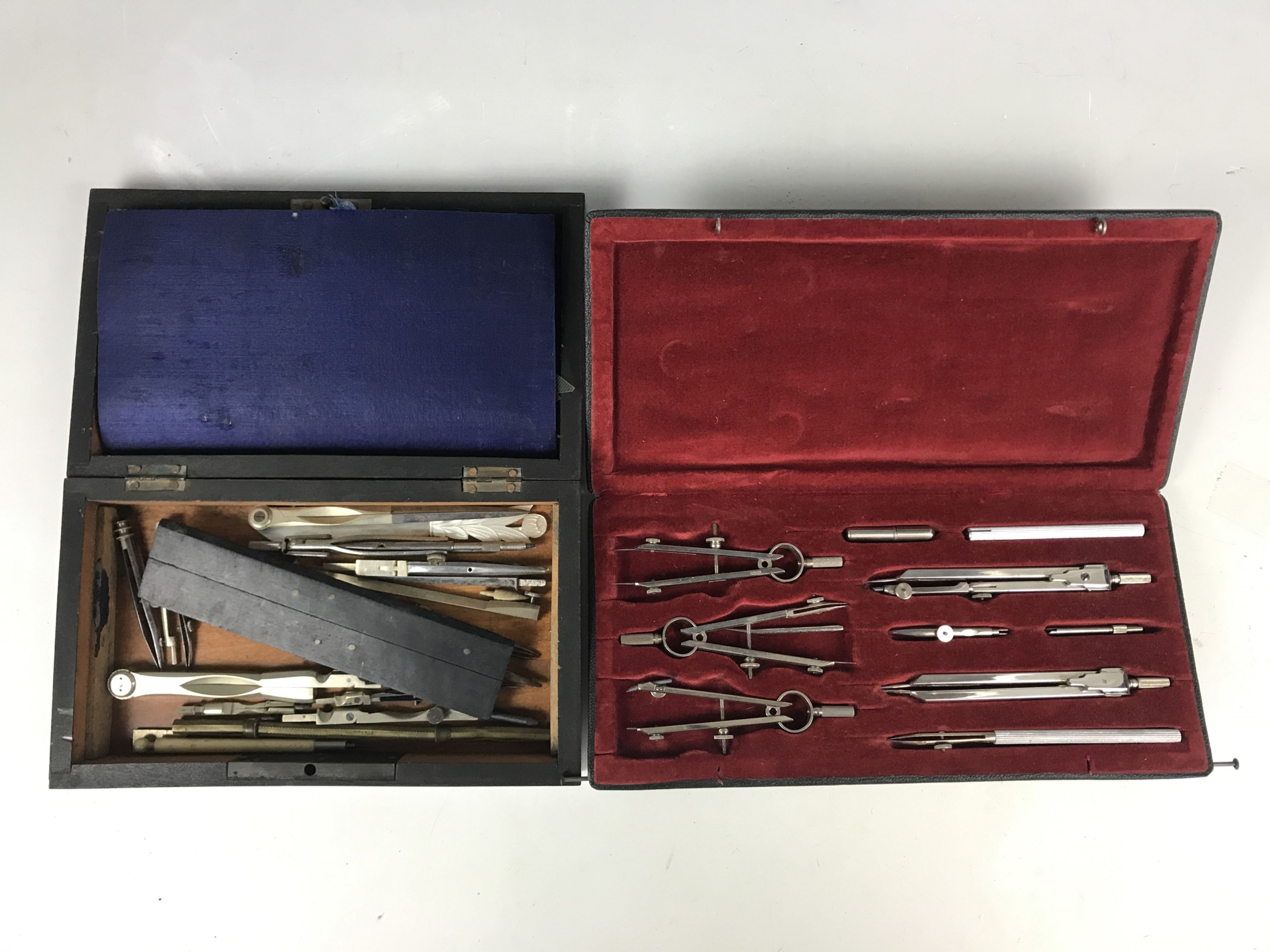 Lot 19 - Victorian and later drawing instruments