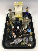 Lot 24 - A quantity of vintage miniature perfume bottles etc