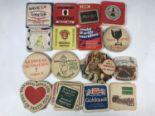 Lot 47 - Sundry beer mats including Guinness, Worthington and Hennesy etc