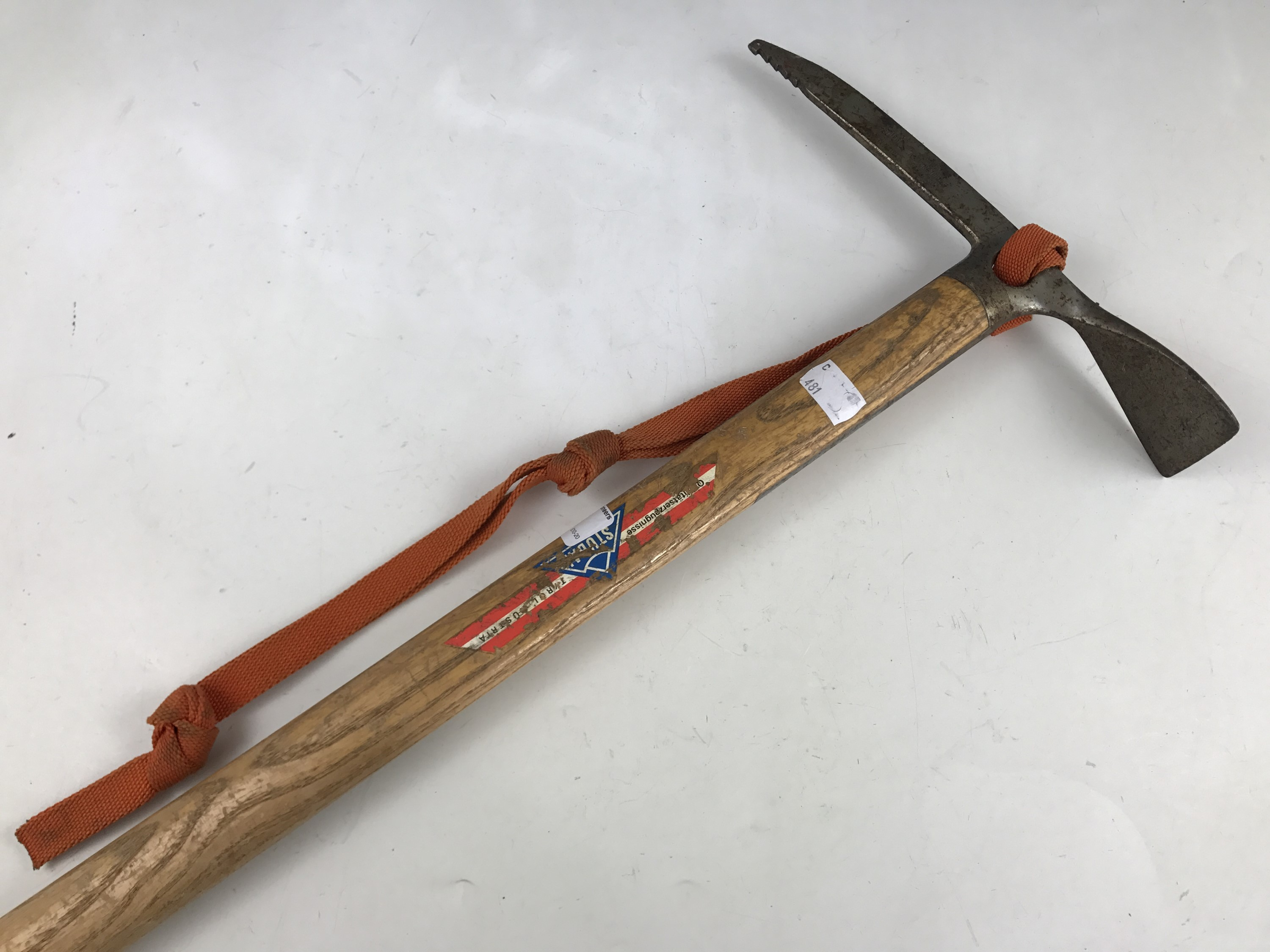 Lot 26 - A vintage Stubai ice axe