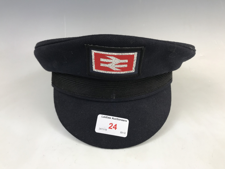 Lot 24 - A British Rail peaked cap