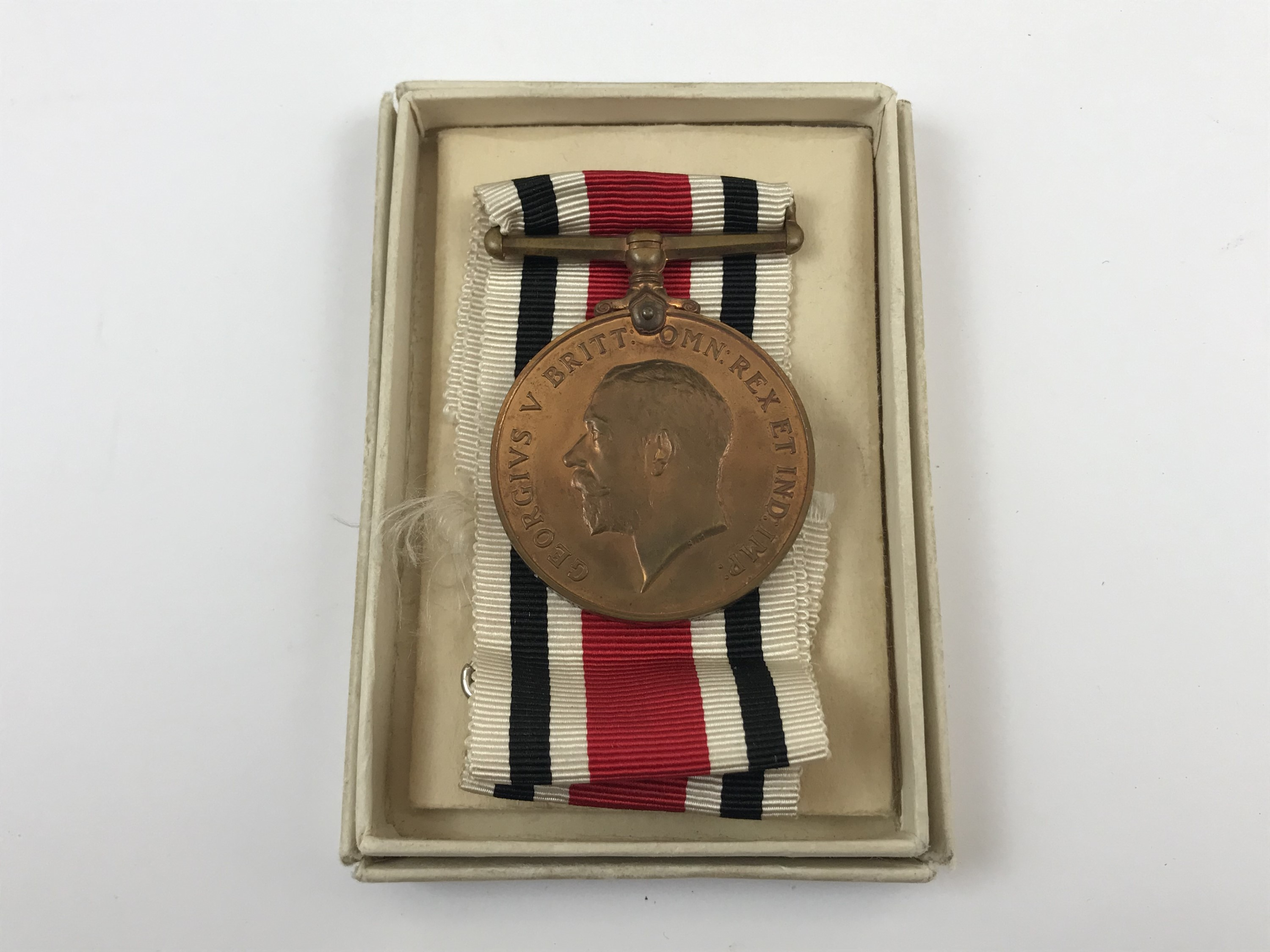 Lot 52 - A police Faithful Service medal to Joseph H. Mann, in issue carton