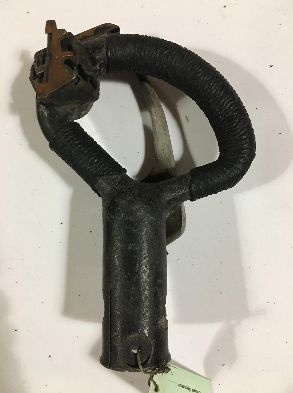 Lot 683 - An RAF control column spade grip, part number AH8400