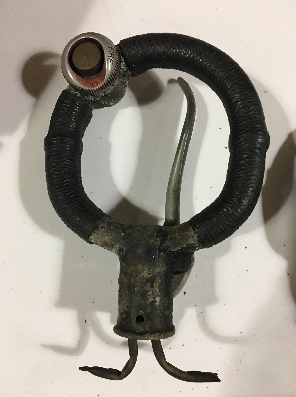 Lot 644 - A Second World War RAF Spitfire control column spade grip, part number AH2174