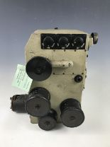 """Lot 646 - A Luftwaffe Carl Zeiss Lotfernrohr 7 bomb sight, bearing a label stating it was taken from a """""""